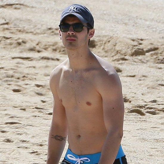 Nick and Joe Jonas Shirtless in Hawaii With Girlfriends
