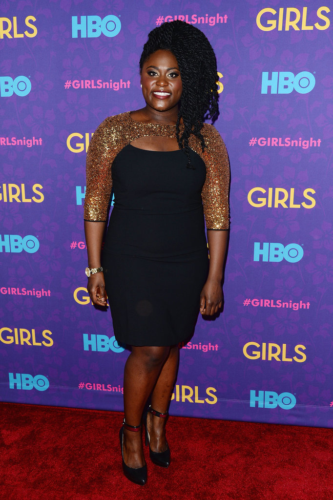 Orange Is the New Black star Danielle Brooks looked incredible in an LBD.
