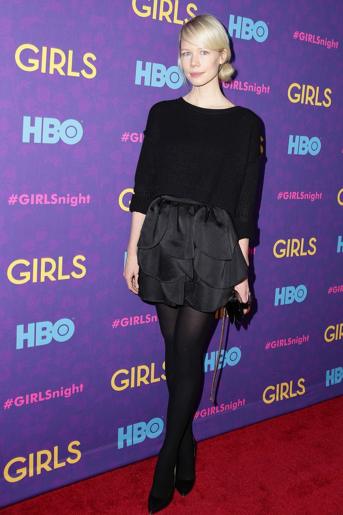 Erin Fetherston at the Girls premiere.