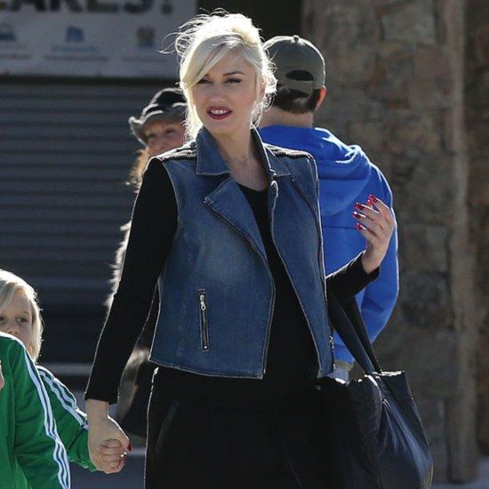 Gwen Stefani's Denim Vest Outfit   Video