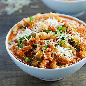 Slow-Cooker Chicken-Parmesan Soup