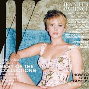 Jennifer Lawrence in W Magazine Movie Issue 2014