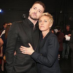 Justin Timberlake at the People's Choice Awards 2014