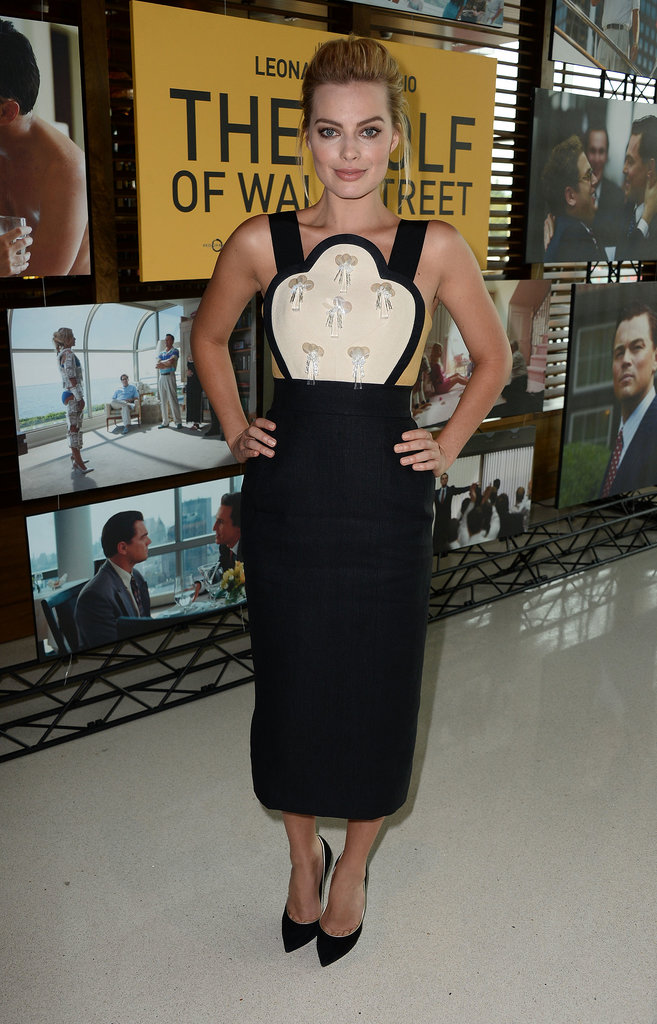 Margot Robbie at the Australians in Film The Wolf of Wall Street screening.