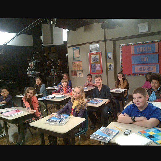 """Ben Savage noted: """"Class is in session."""" Source: Instagram user bensavage"""