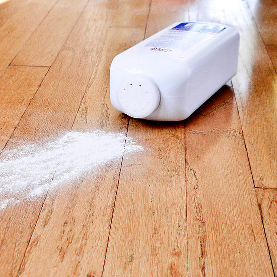 Fix Squeaky Floors With Baby Powder