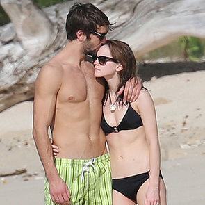 Emma Watson in a Bikini With Boyfriend Matthew Janney