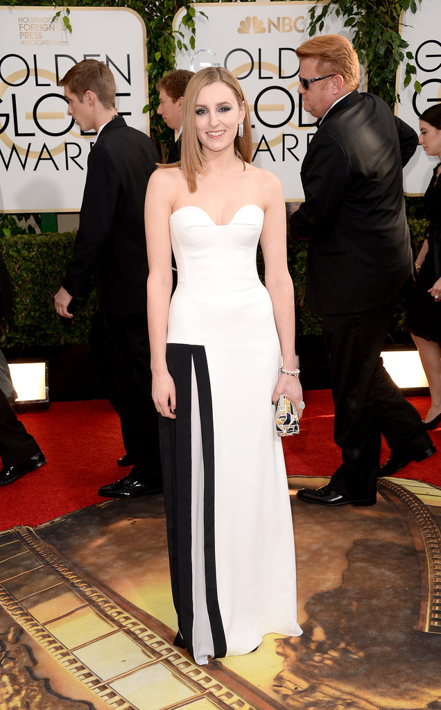 Laura Carmichael at golden globes