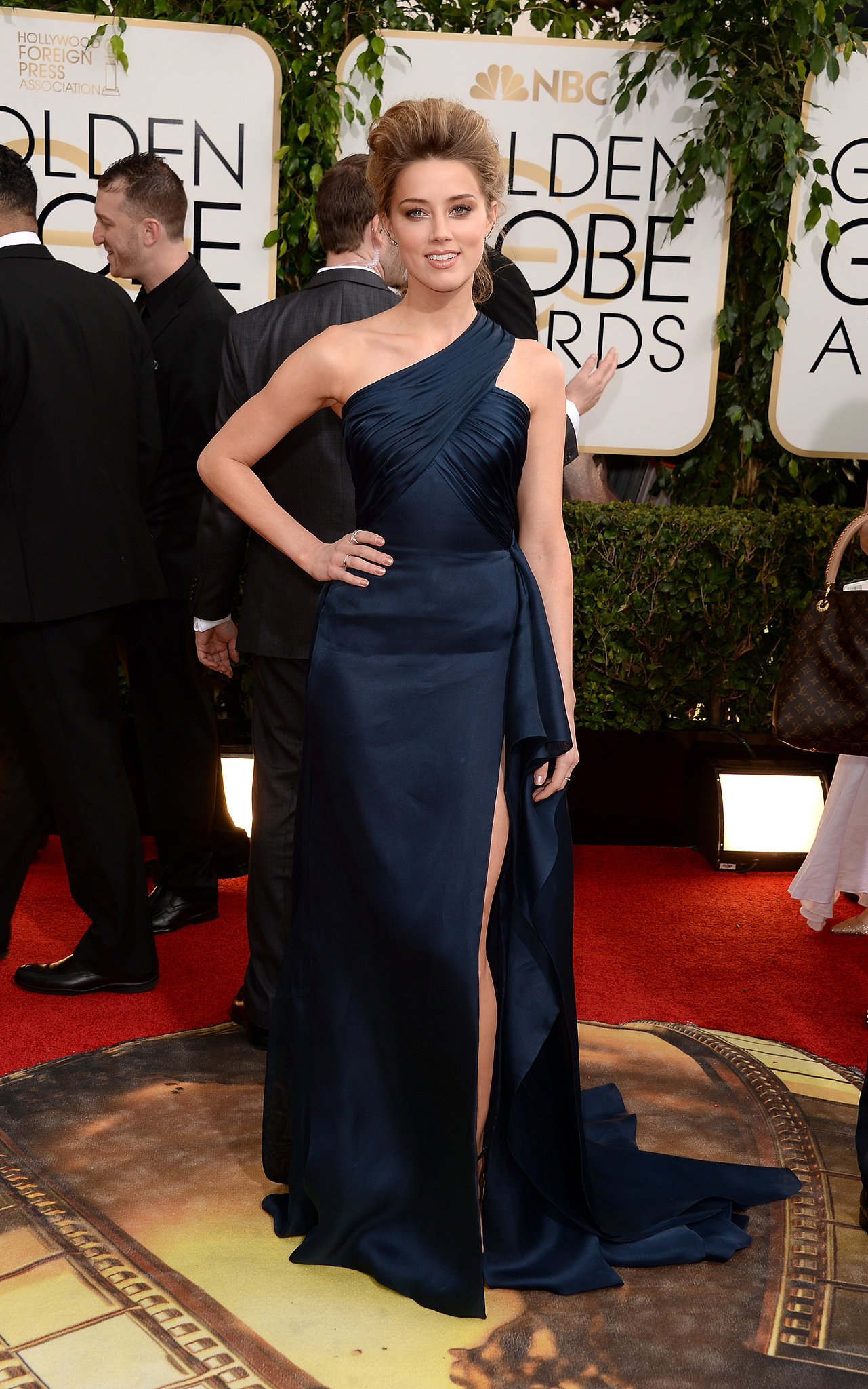 Amber Heard in Atelier Versace