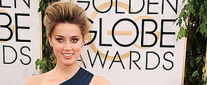 2014 Golden Globes: Amber Heard