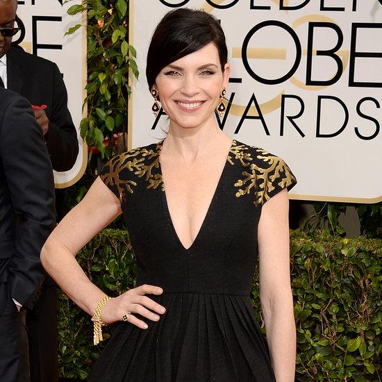 Julianna Margulies at the Golden Globes 2014