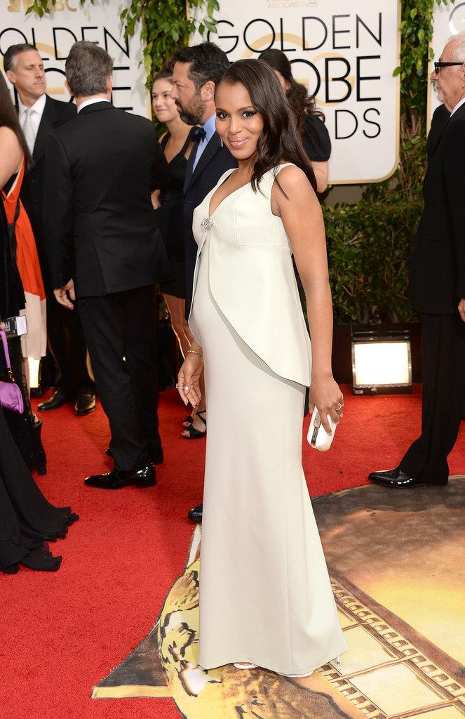 Kerry Washington at the Golden Globes 2014
