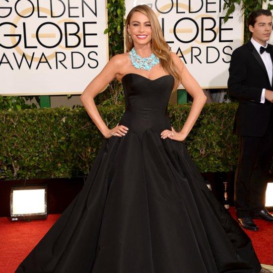 Sofia Vergara Golden Globes 2014 Dress