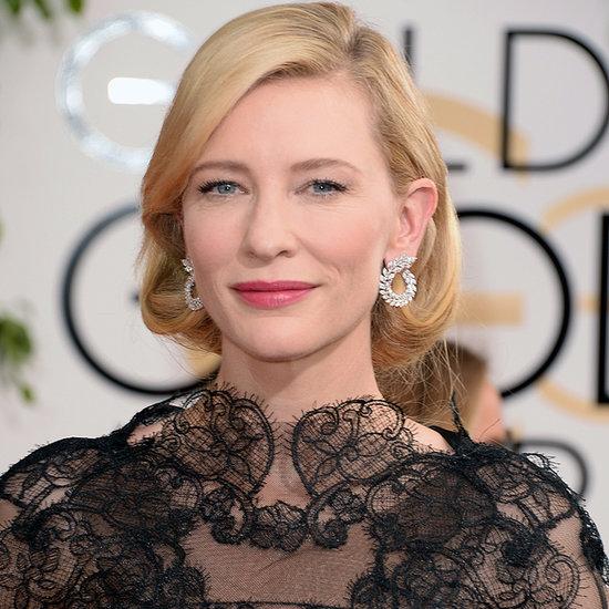 Cate Blanchett Dress on Golden Globes 2014 Red Carpet