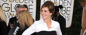 2014 Golden Globes: Julia Roberts's Layering Trick