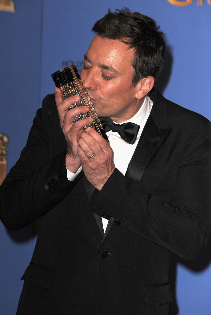 Wait, Jimmy. That's not a Golden Globe!