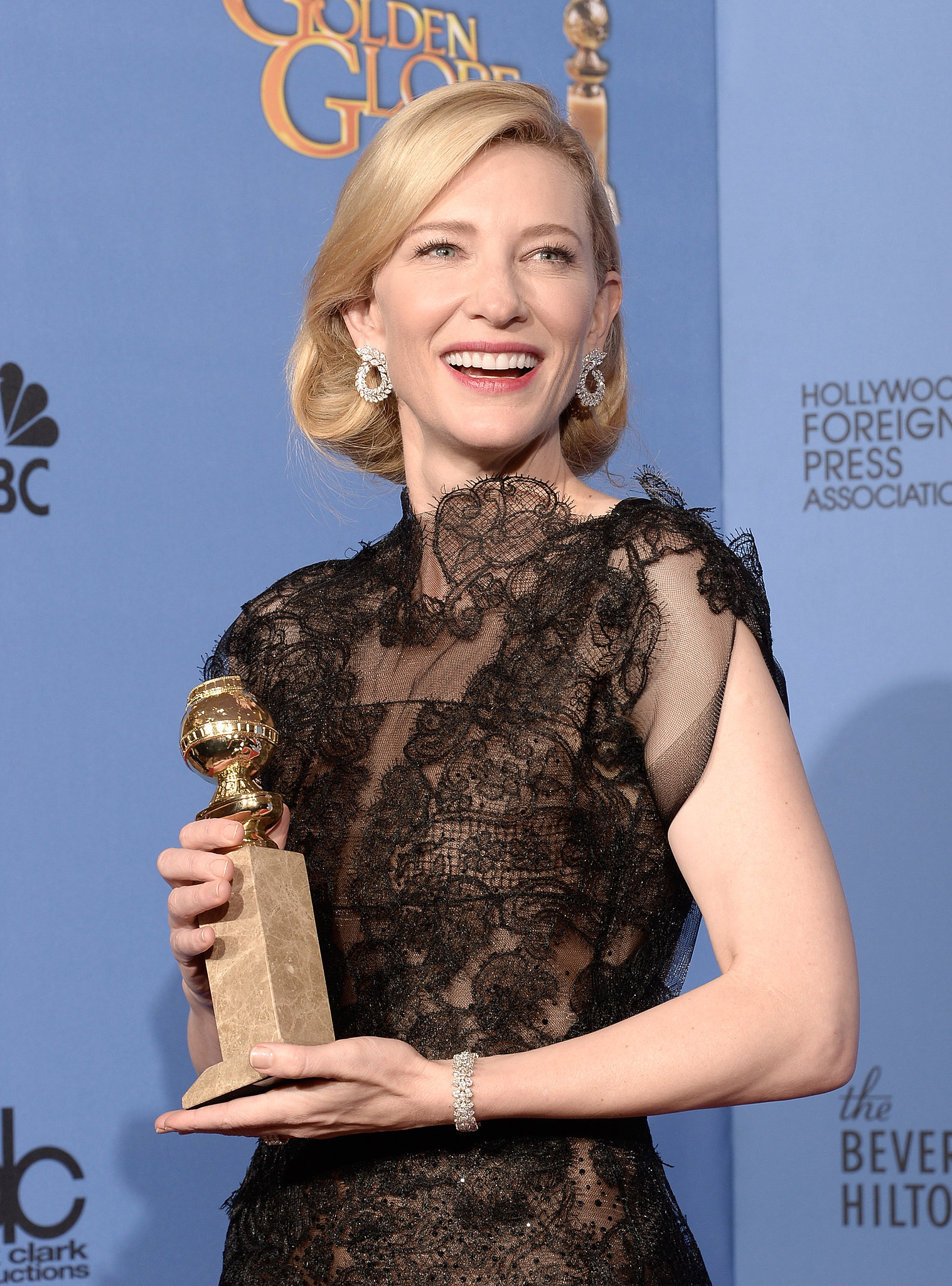 Cate Blanchett looked as elegant as ever.