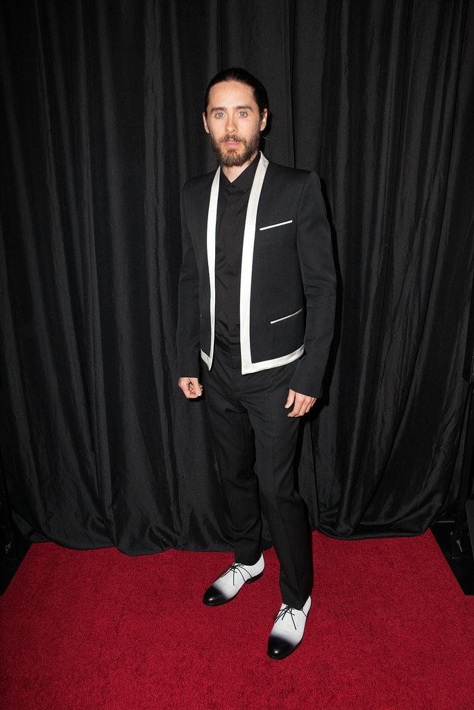 Jared Leto attended the LA Film Critics Association Awards in LA on Saturday.