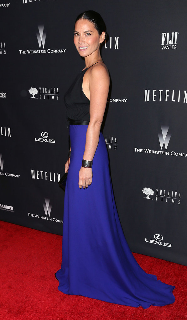 Olivia Munn at the Netflix Golden Globes Afterparty