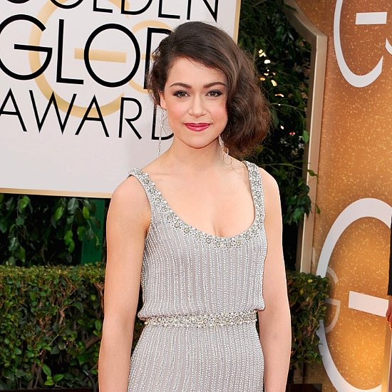 Tatiana Maslany's Dress at the Golden Globes 2014