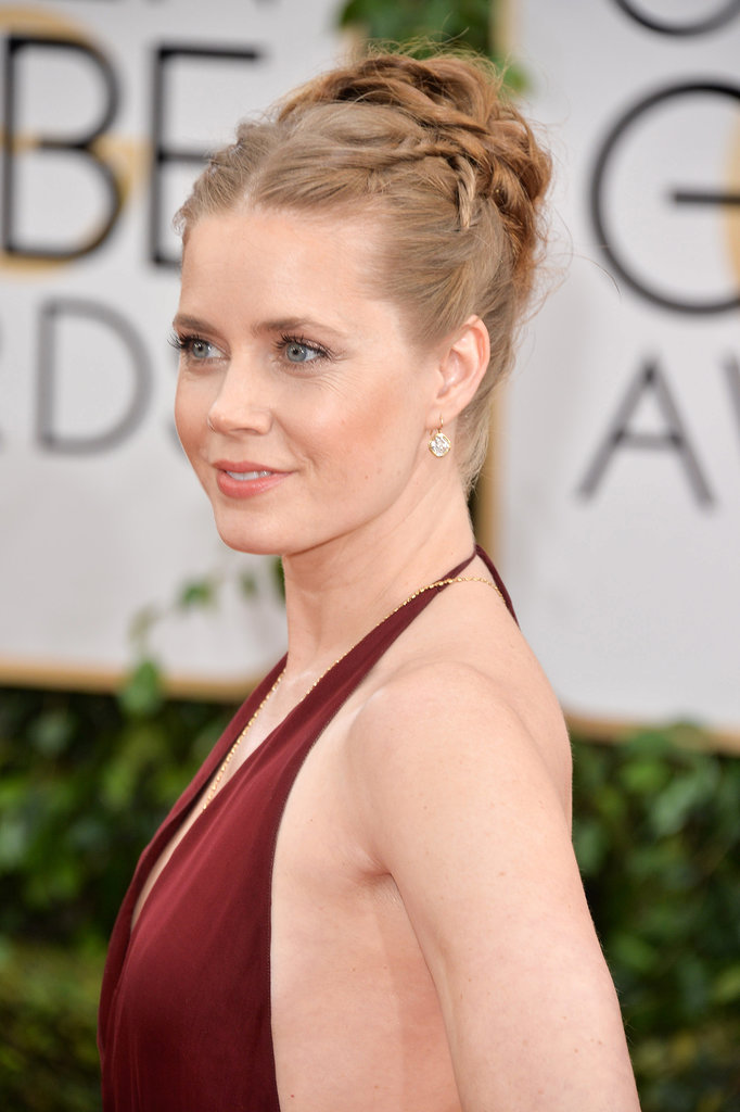 Amy Adams Golden Globes 2014 Inspired Hair Idea.
