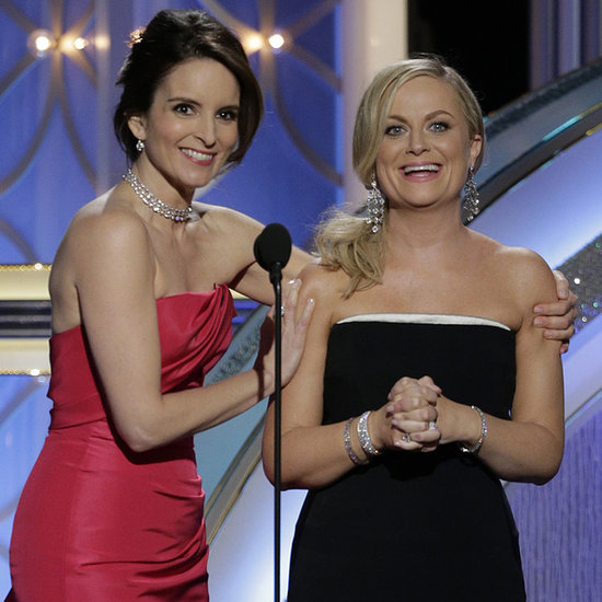 Tina Fey and Amy Poehler as Hosts of the Golden Globes