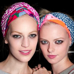 How to Tie Your Hair Scarf Like a Runway Model