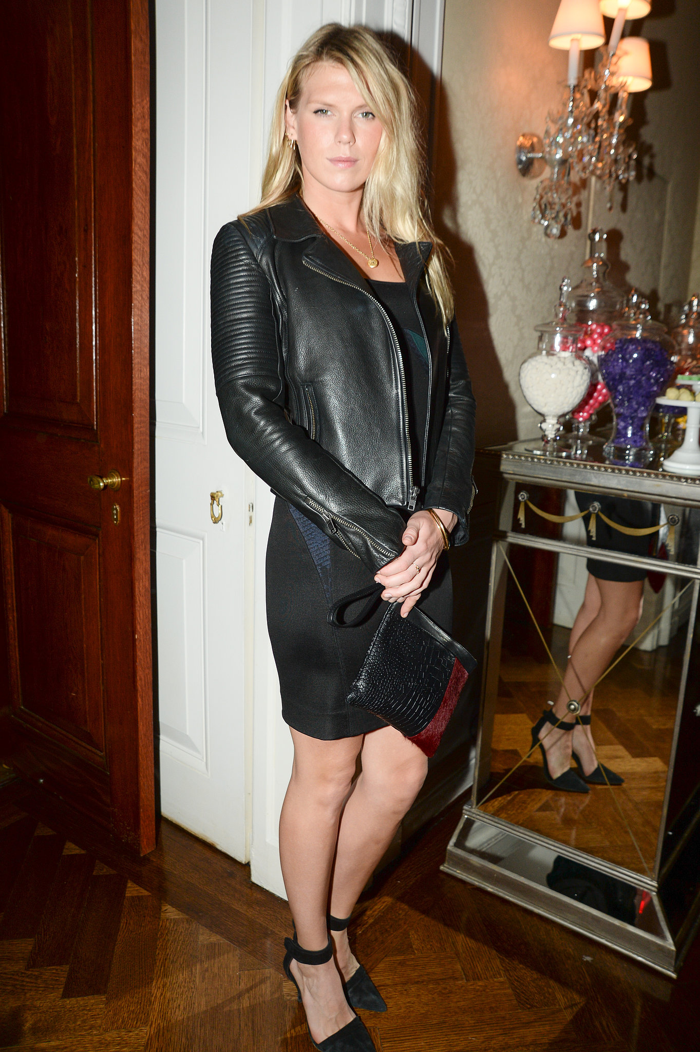 Alexandra Richards at the Stella McCartney Pre-Fall 2014 presentation.