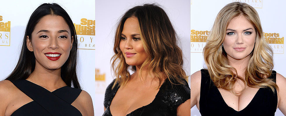 It is All About Bombshell Beauty at the Sports Illustrated Party