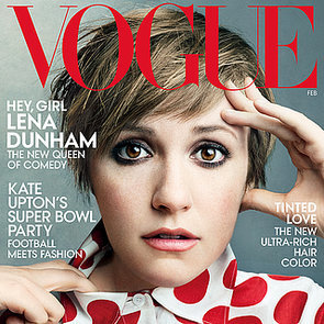 Lena Dunham Vogue Magazine Cover and Pictures