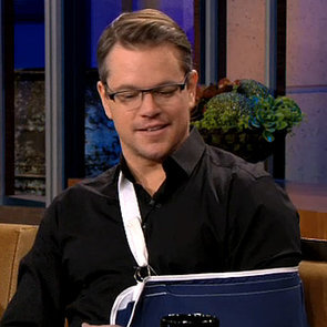 Matt Damon on The Tonight Show January 2014