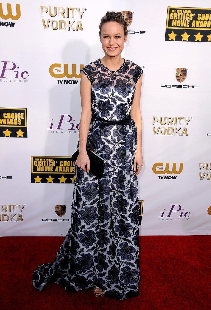 Brie Larson at the Critics' Choice Awards 2014