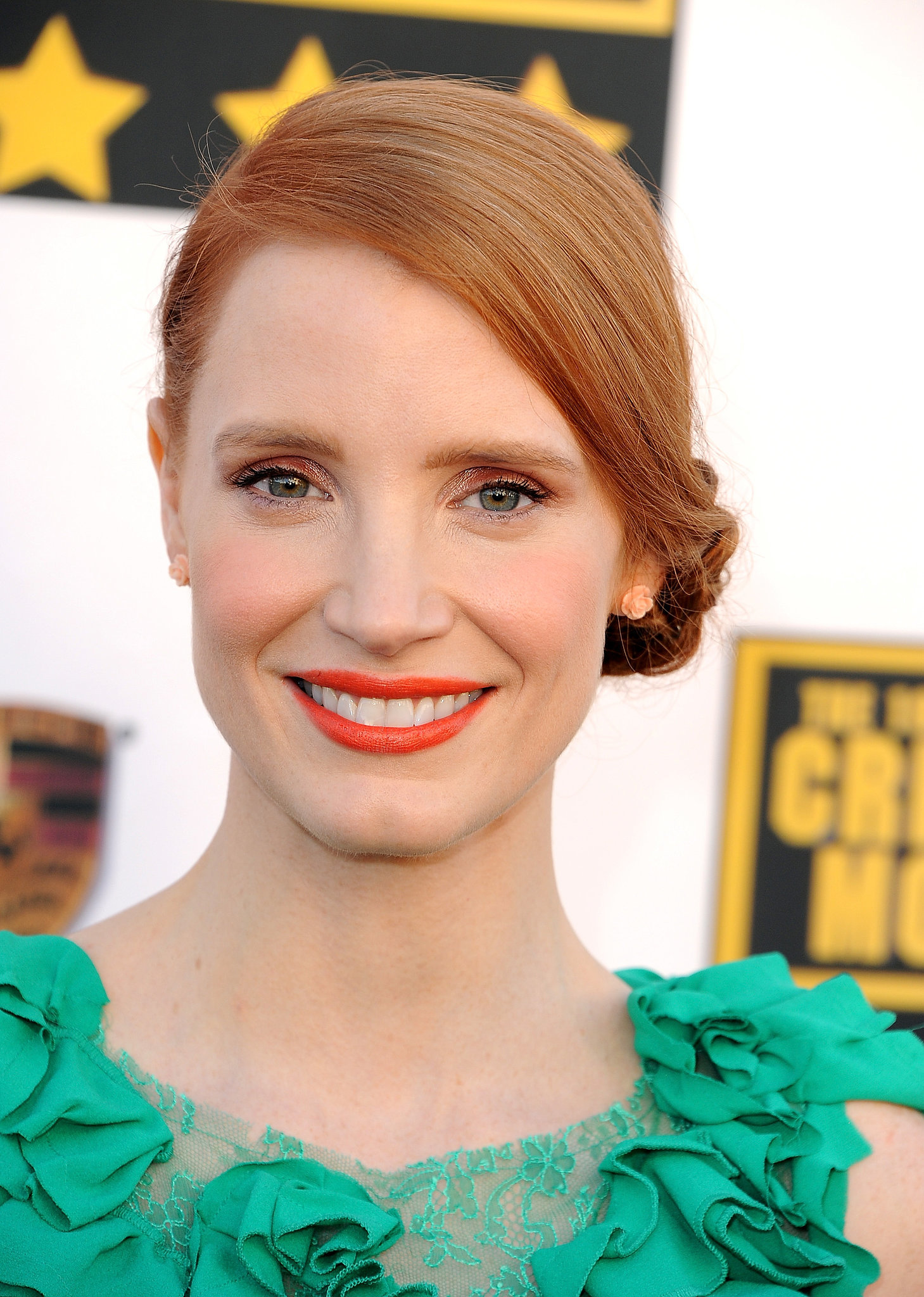 Jessica Chastain at the Critics' Choice Awards