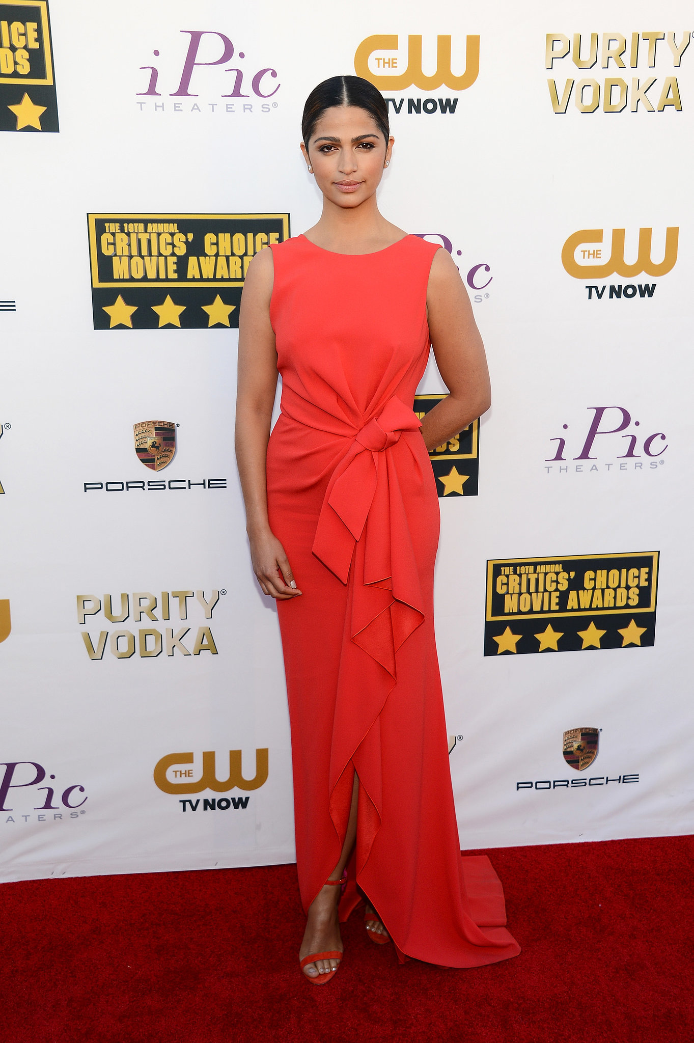 Camila Alves at the Critics' Choice Awards 2014