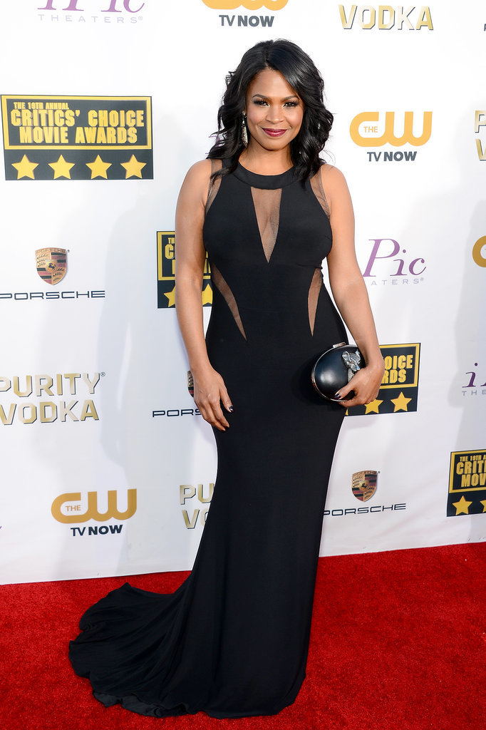 Nia Long at the Critics' Choice Awards 2014