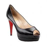 Discount Christian Louboutin Pumps Altadama Double Platform Black Sale