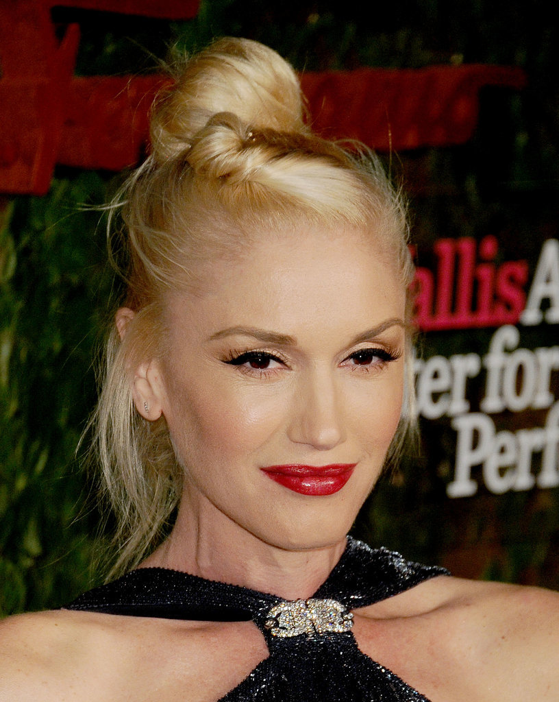 The queen of platinum-blond hair is Gwen Stefani, who has been rocking this hue for years.