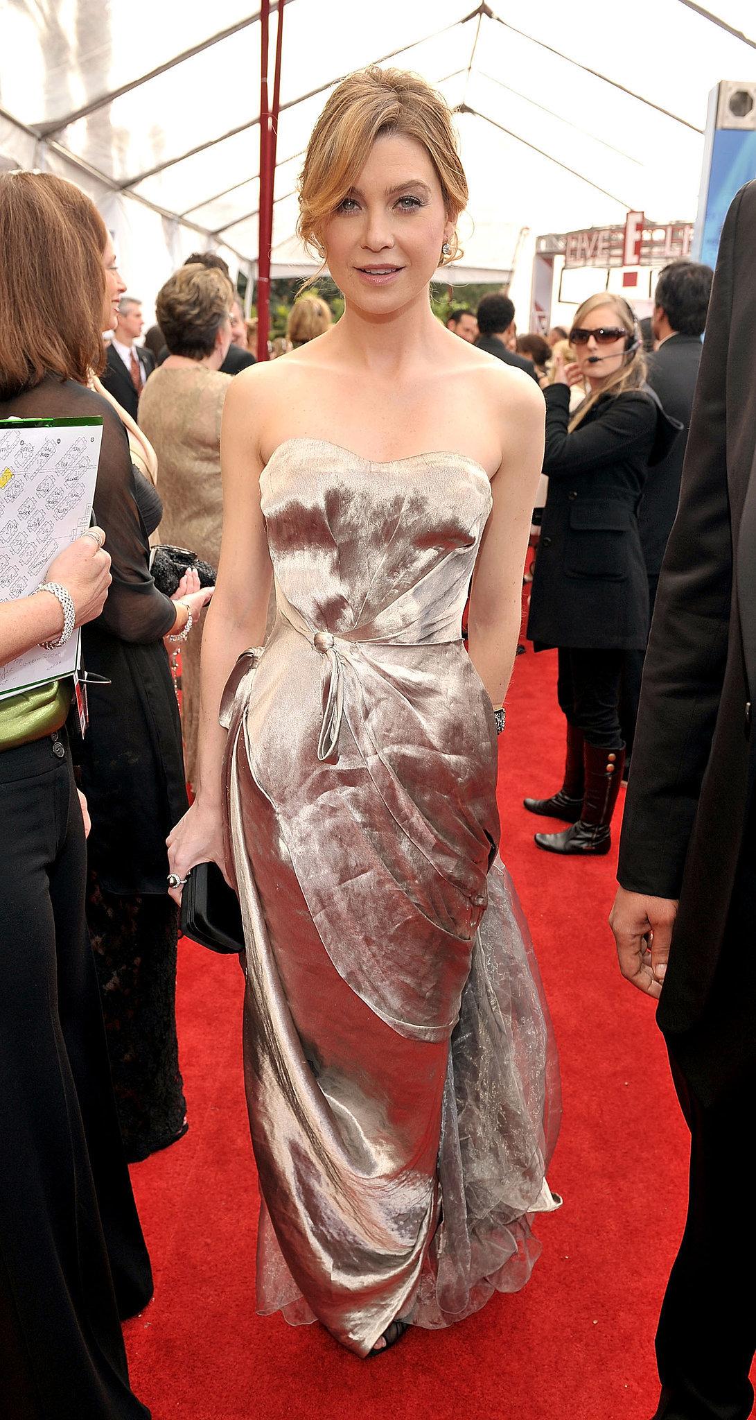 Ellen Pompeo at the 2008 SAG Awards