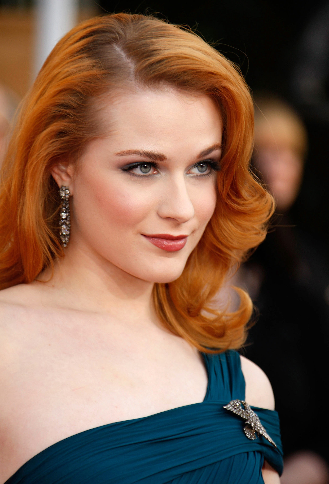 Miss: Evan Rachel Wood, 2009 | 20 Years of SAG Awards Beauty Hits and ... Evan Rachel Wood
