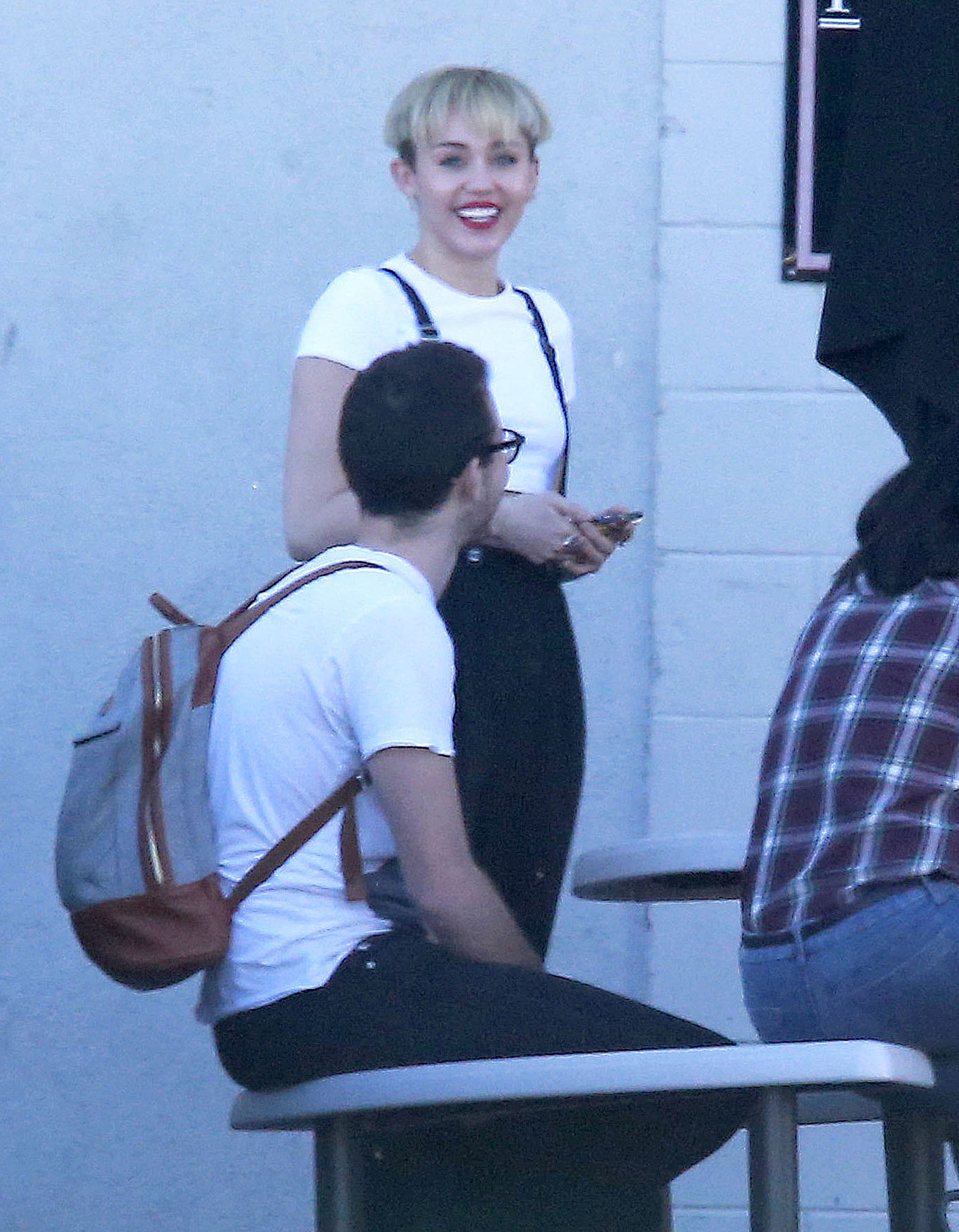 Miley, Miley, Miley. The singer was in our Twitter stream again this week for her new bowl-cut hairstyle.