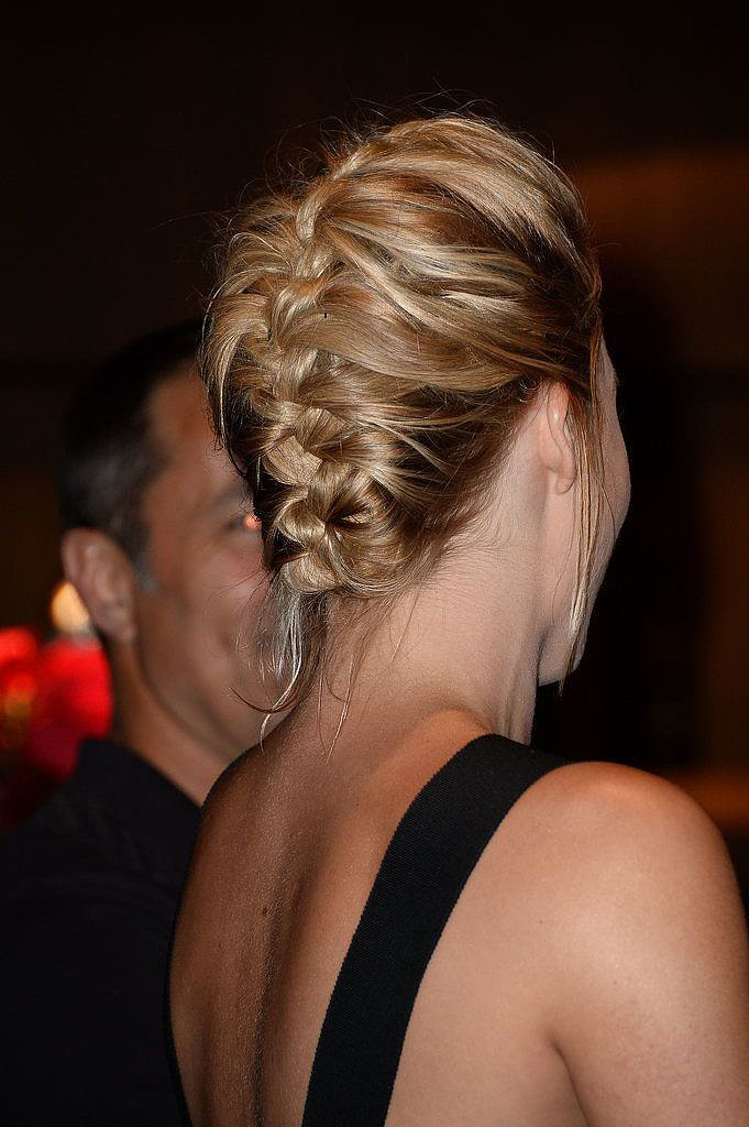 Who is Margot Robbie? She plays Leonardo DiCaprio's wife in The Wolf of Wall Street, and now she's also famous on Pinterest for this chic french braid hairstyle.