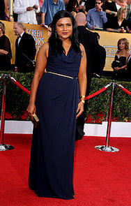Mindy Kaling at the SAG Awards 2014