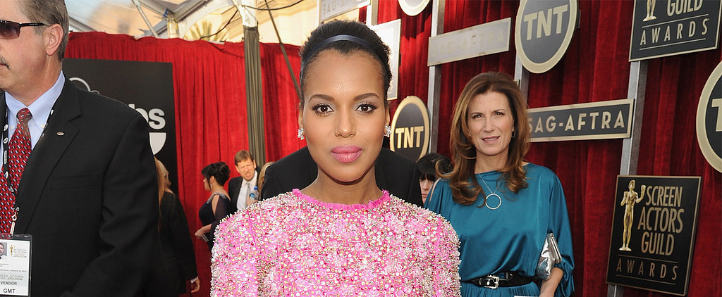 Are You a Fan of Kerry Washington's Big-Time Ballerina Bun?