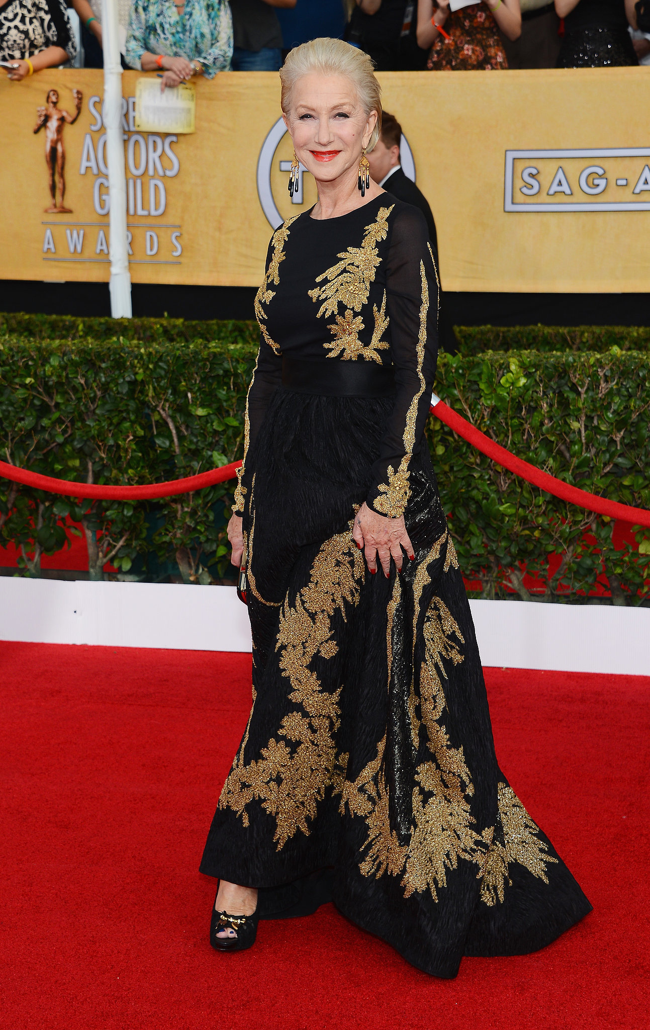 Helen Mirren at the SAG Awards 2014