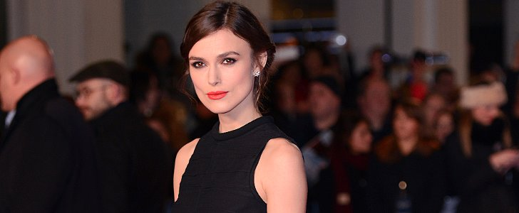 Keira Knightley's Shoes Will Undoubtedly Make You Smile