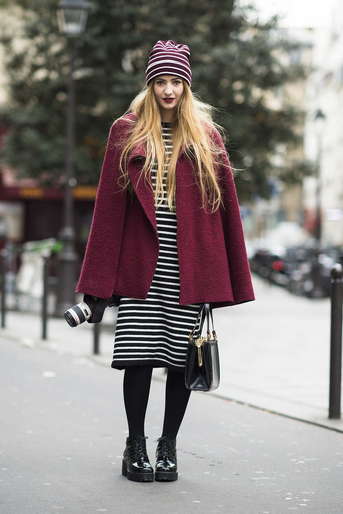 Say hello to seriously coordinated stripes. Source: Le 21ème | Adam Katz Sinding