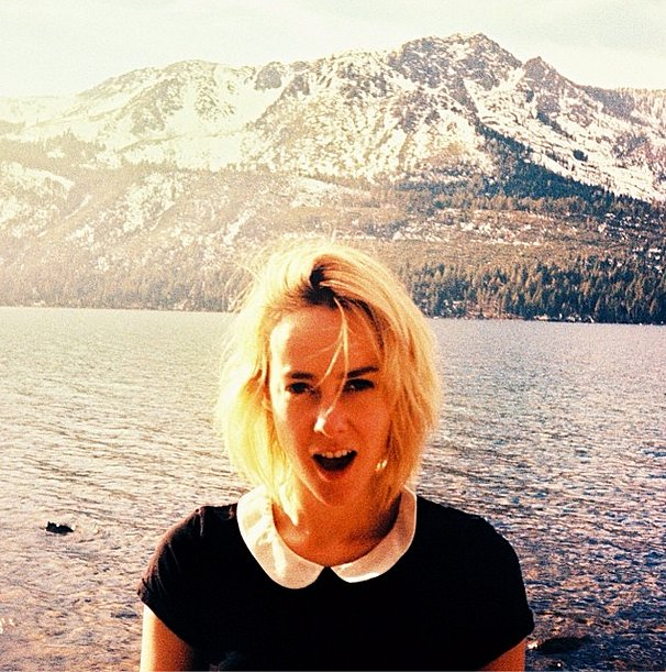 The magical scenery (and Jena Malone's Peter Pan collar) had us dreaming of Neverland. Source: Instagram user jenamalone