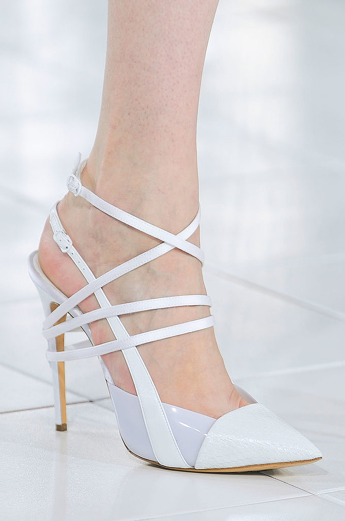 Ankle-Strap Pumps: Prabal Gurung Spring 2014
