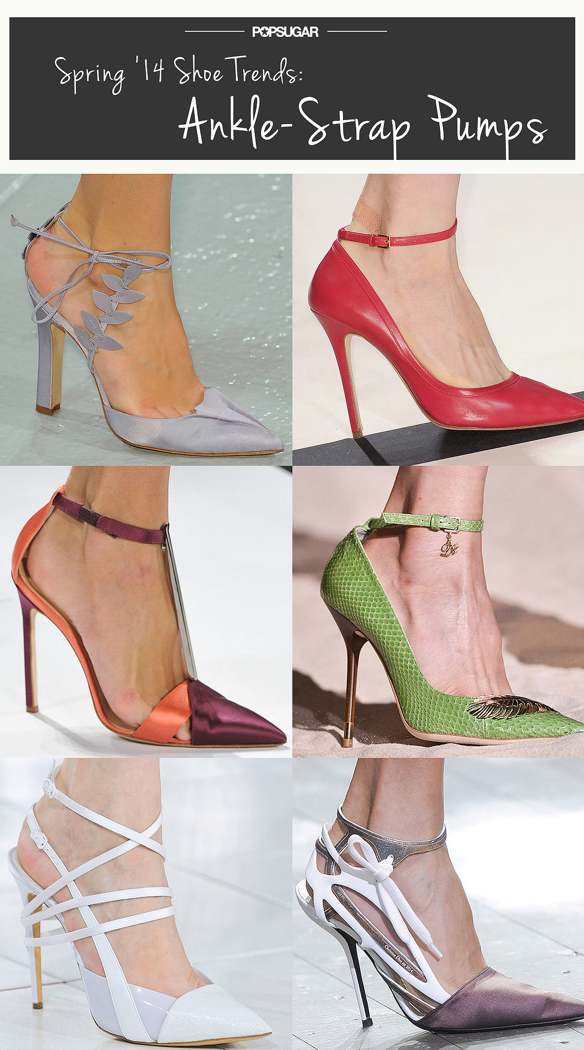 Spring Shoe Trend #1: Ankle-Strap Pumps