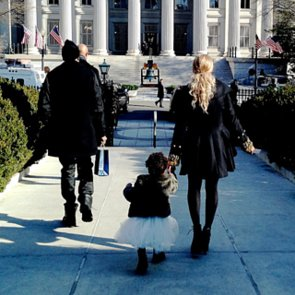 Blue Ivy Carter at the White House
